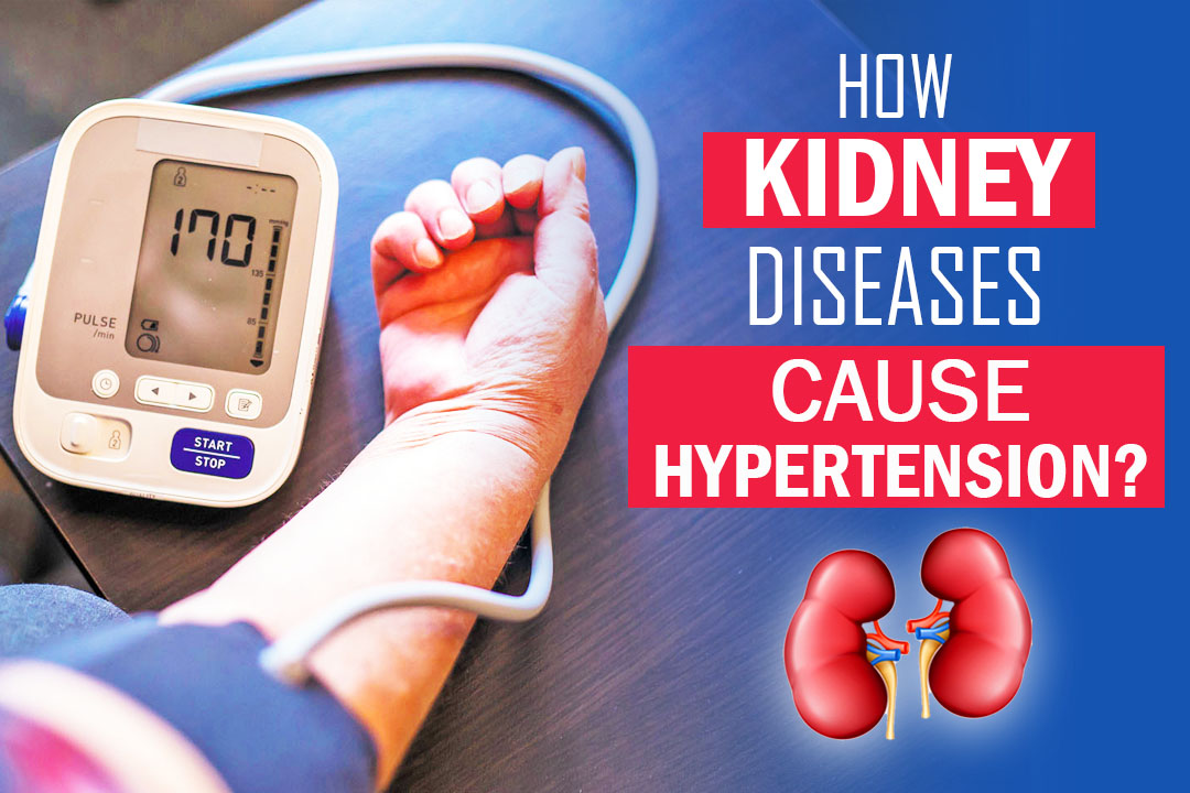 How Kidney Disease Cause Hypertension?