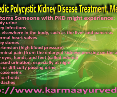 Polycystic Kidney Disease Treatment, Medicine