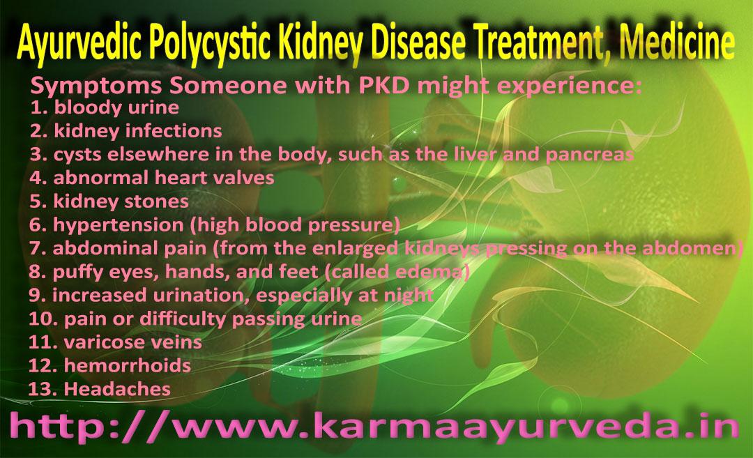 Polycystic Kidney Disease Treatment, Medicine
