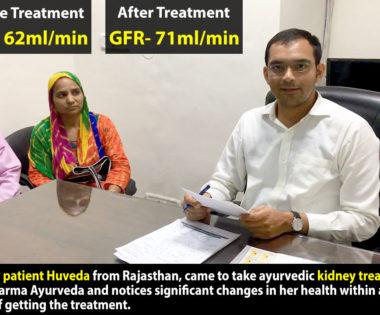 Kidney Patient Mr. Huveda from Rajasthan