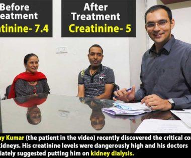 Karma Ayurveda Review – Kidney Patient Vijay Kumar